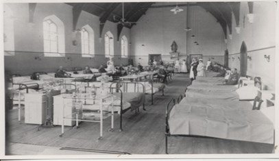 WWI Dining Hall:Ward